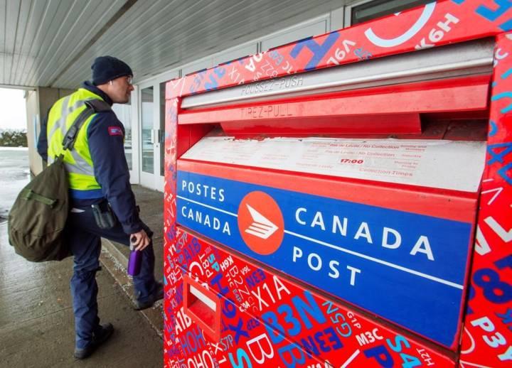 canada post parcel
