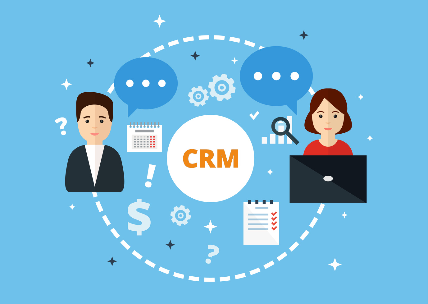 • CRM for real estate agents