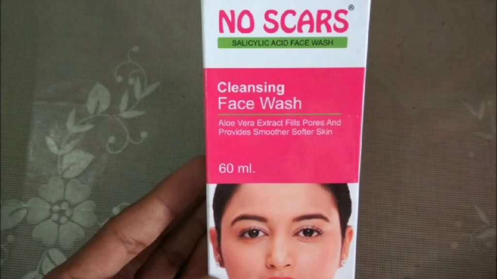 No scars facewash